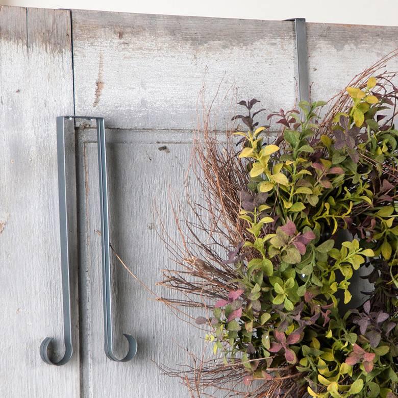 Wreath Door Hook in Country Tin (In Store)