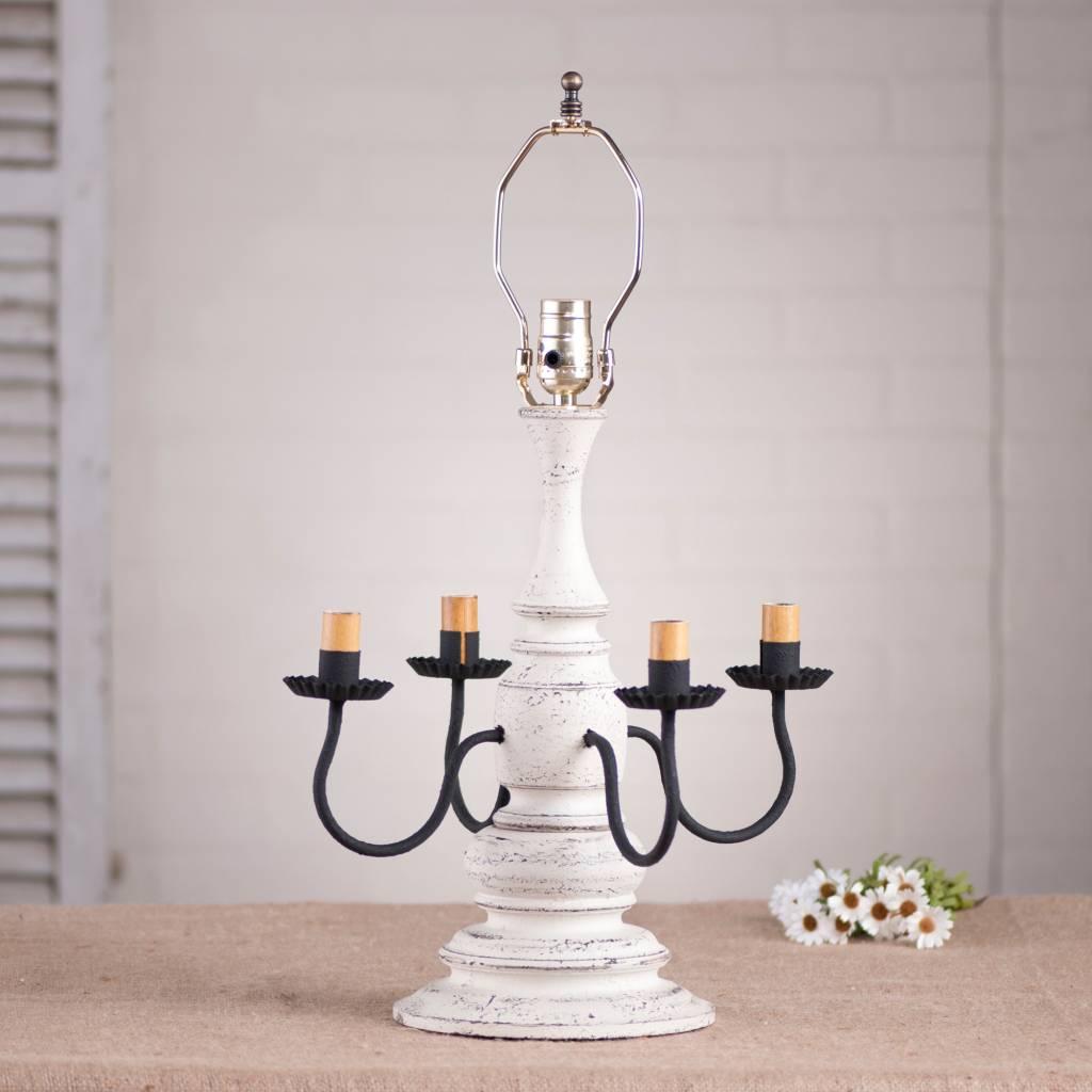 Irvin's Tinware Harrison Lamp Base