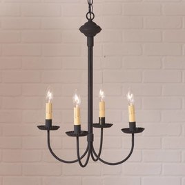 Irvin's Tinware Grandview Chandelier 4 arm