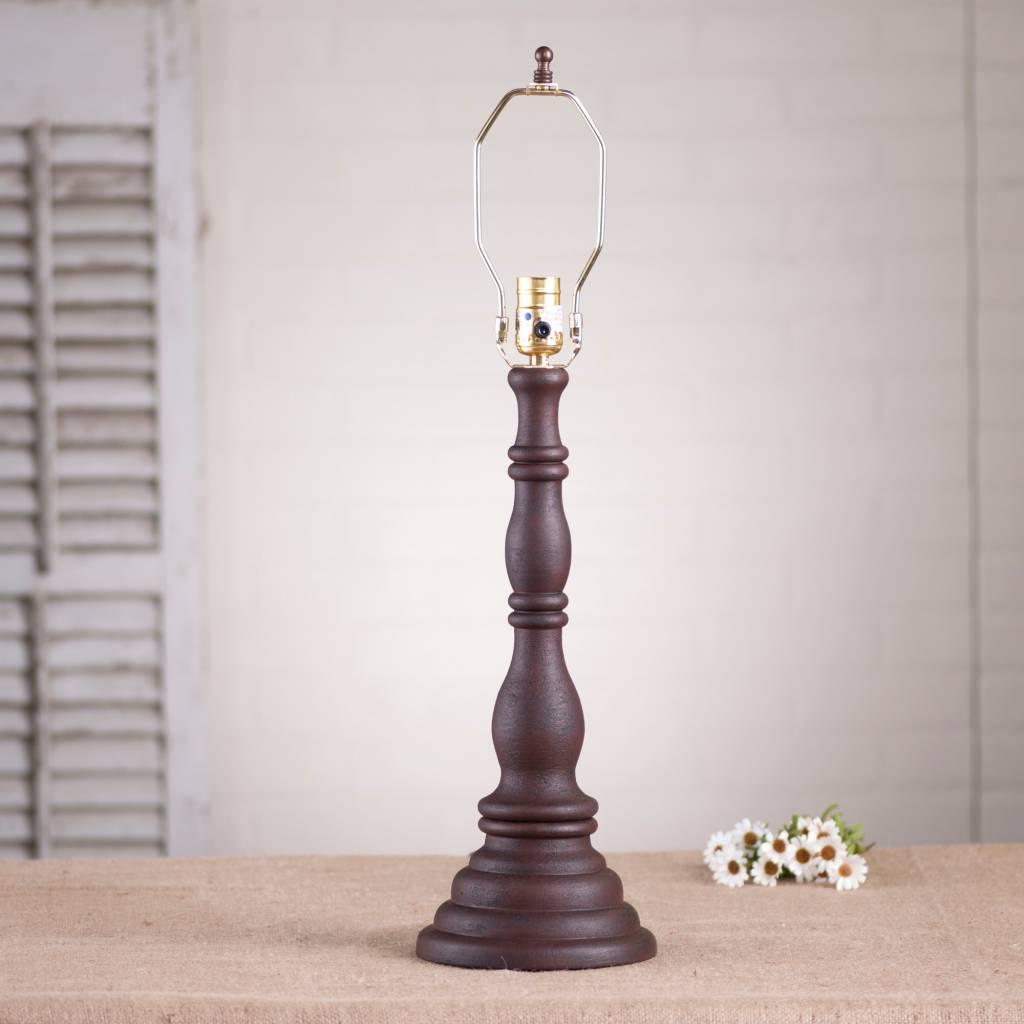 Irvin's Tinware Davenport Lamp Base in Hartford
