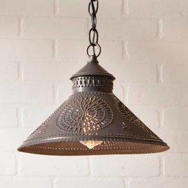 Irvin's Tinware Stockbridge Shade Light with Chisel