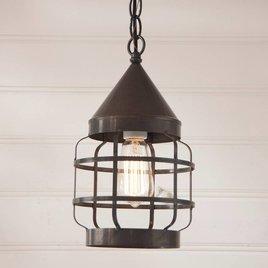 Irvin's Tinware Round Hanging Strap Light