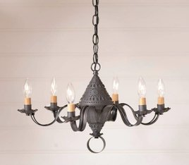 Irvin's Tinware Concord Chandelier