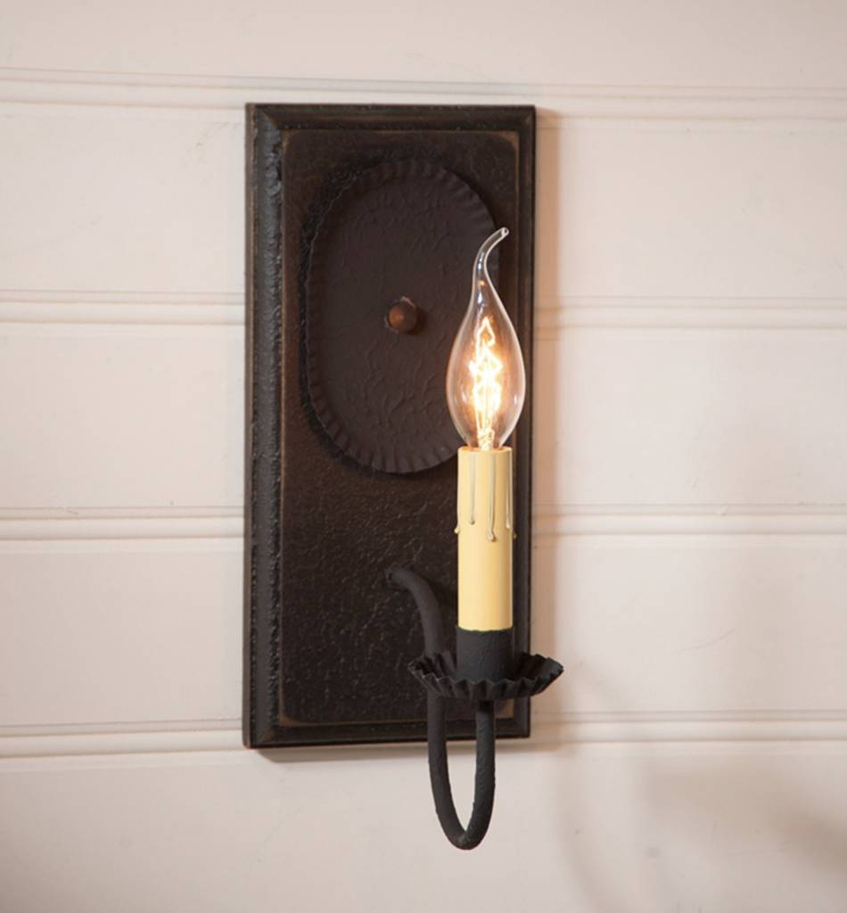 Irvin's Tinware Wilcrest Sconce