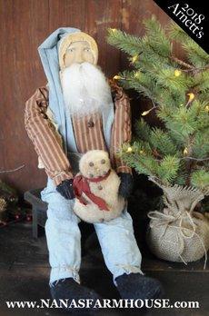 Arnett's JC31 Arnett's Santa in Overalls
