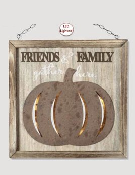 K & K Interiors Family & Friends LED Rustic Pumpkin Arrow Replacement