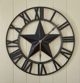 Park Designs Star Wall Clock