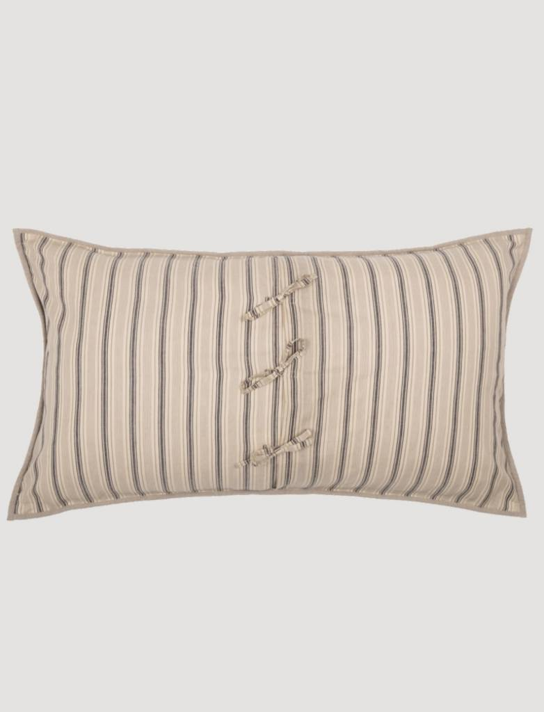 VHC Brands Sawyer Mill Star Charcoal Pillow Sham