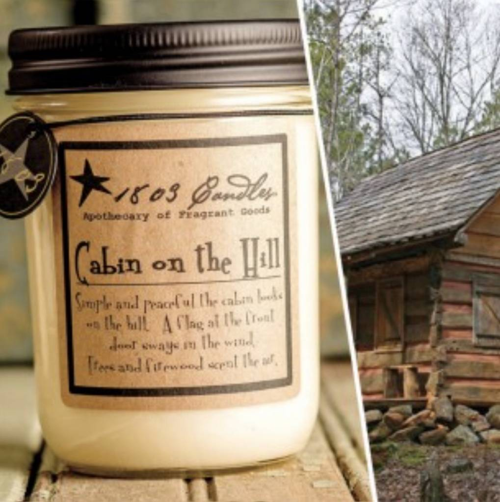 1803 Candles 1803 Candles 14oz Cabin On The Hill