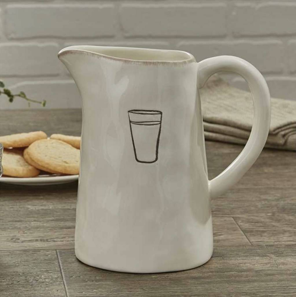Park Designs Villager Pitcher - Cream