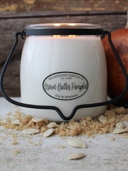 Milkhouse Candles Brown Butter Pumpkin 16oz Milkhouse