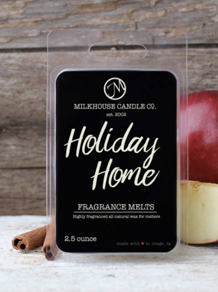 Milkhouse Candles Milkhouse Melts Holiday Home 2.5oz