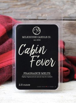 Milkhouse Candles Cabin Fever 2.5oz Melt Milkhouse