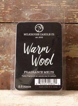 Milkhouse Candles Warm Wool 2.5oz Melts Milkhouse
