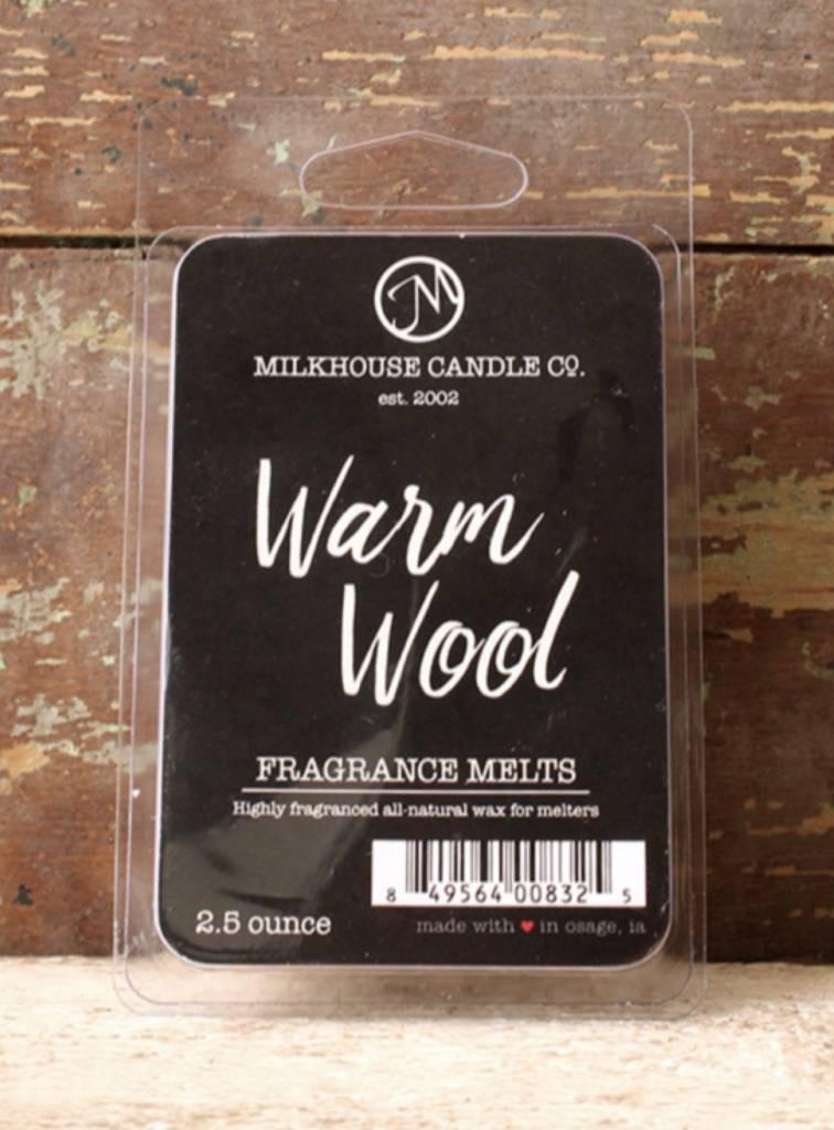 Milkhouse Candles Milkhouse Melts Warm Wool 2.5oz