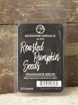 Milkhouse Candles Roasted Pumpkin Seeds 2.5oz Melts Milkhouse