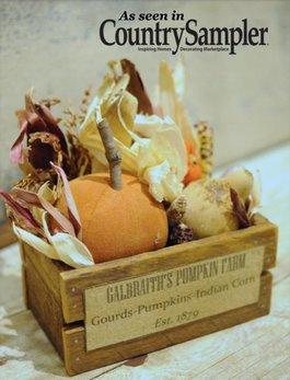 Fall Pumpkin Box