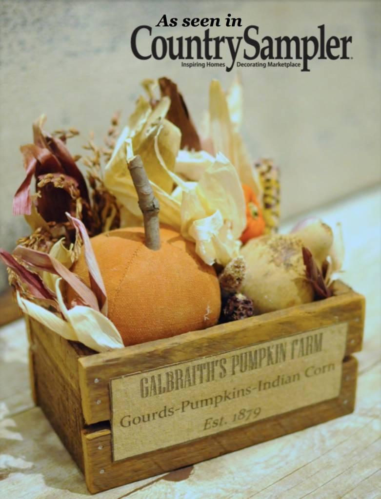 Nana's Farmhouse Fall Pumpkin Box