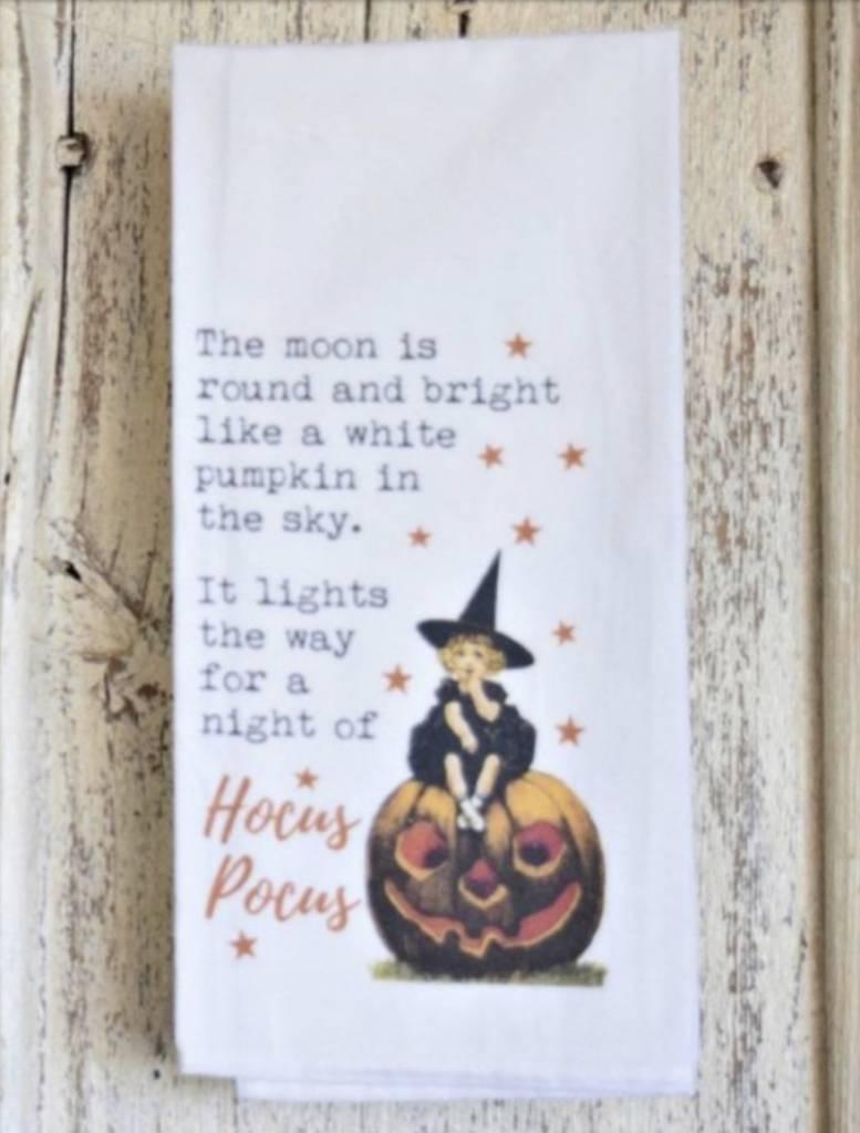 1803 Candles Hocus Pocus Flour Sack Towel