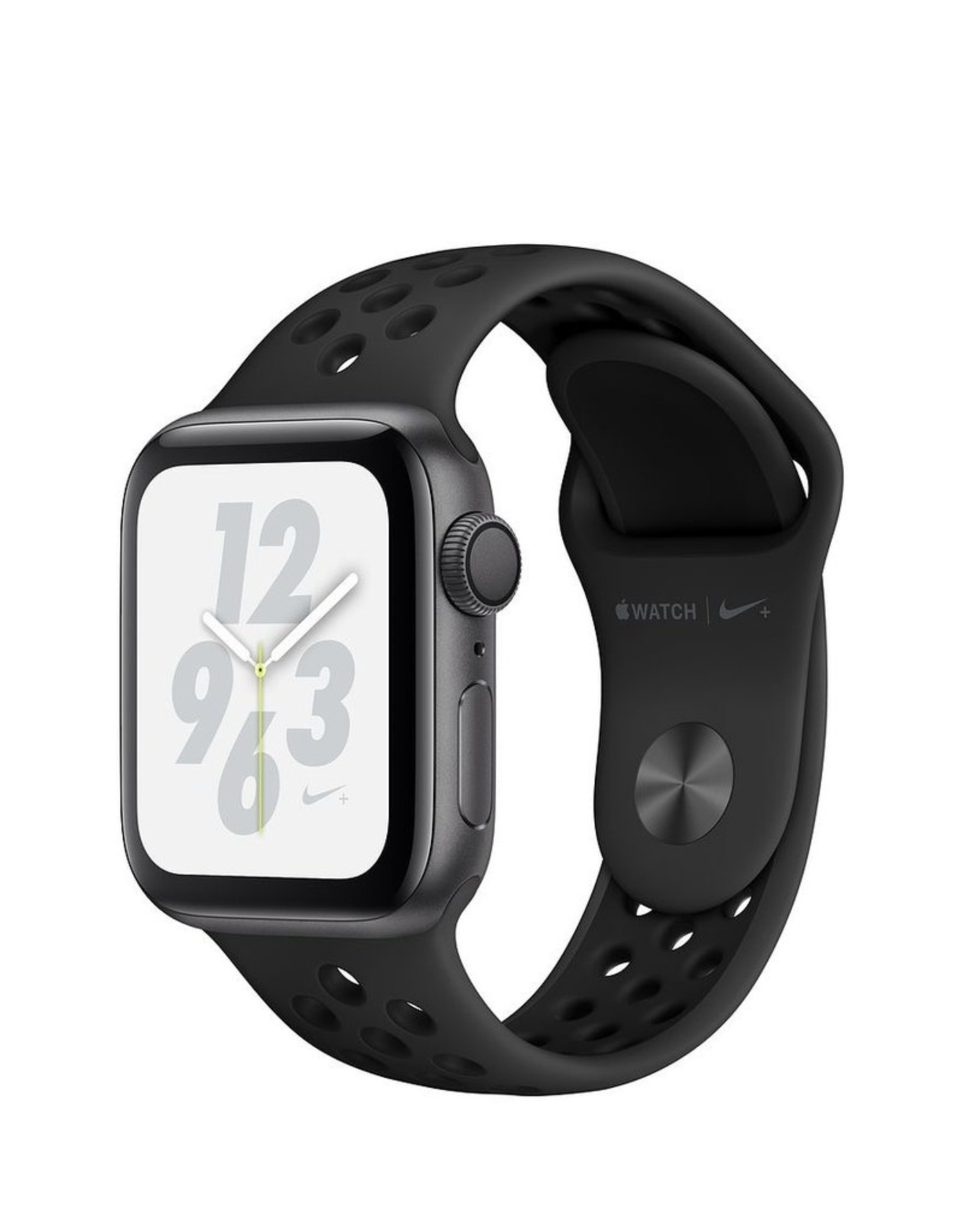 Limpia el cuarto Camino sombra  Apple Watch Nike+ Series 4 GPS + Cellular, 40mm Space Gray Aluminum Case  with Anthracite/Black Nike Sport Band - kite+key, Rutgers Tech Store