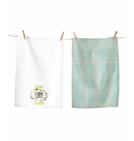 tag* Happy Camper Dishtowel Set of 2