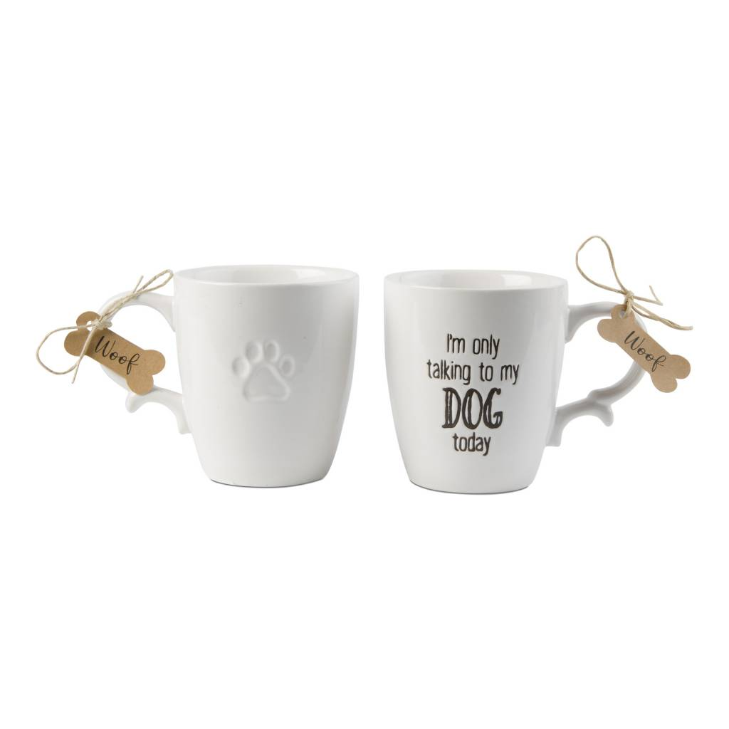 tag* Only Talking to Dog Today - Mug