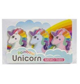 Streamline Rainbow Unicorn Memo Tabs DNR