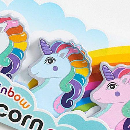Streamline Rainbow Unicorn Memo Tabs