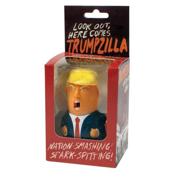 Unemployed Philosophers Guild Trumpzilla Wind-Up Toy