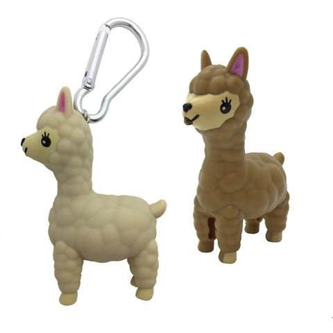 Streamline Alpaca Keychain with Sound & Light