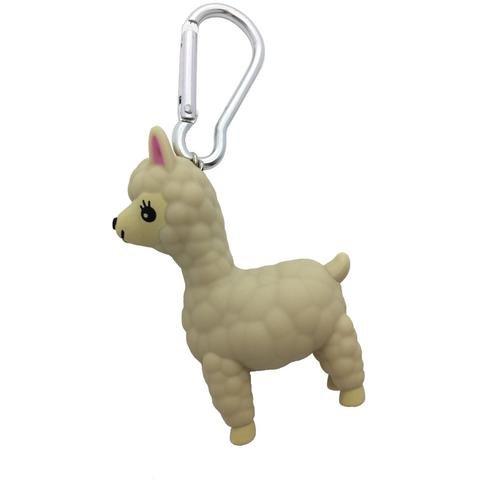 Streamline Alpaca Keychain with Sound & Light