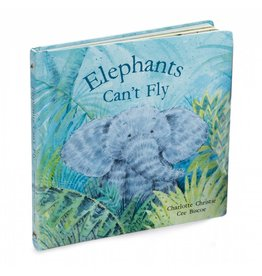 JellyCat, Inc. Elephants Can't Fly Book