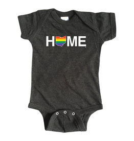 Rainbow HOME Onesie
