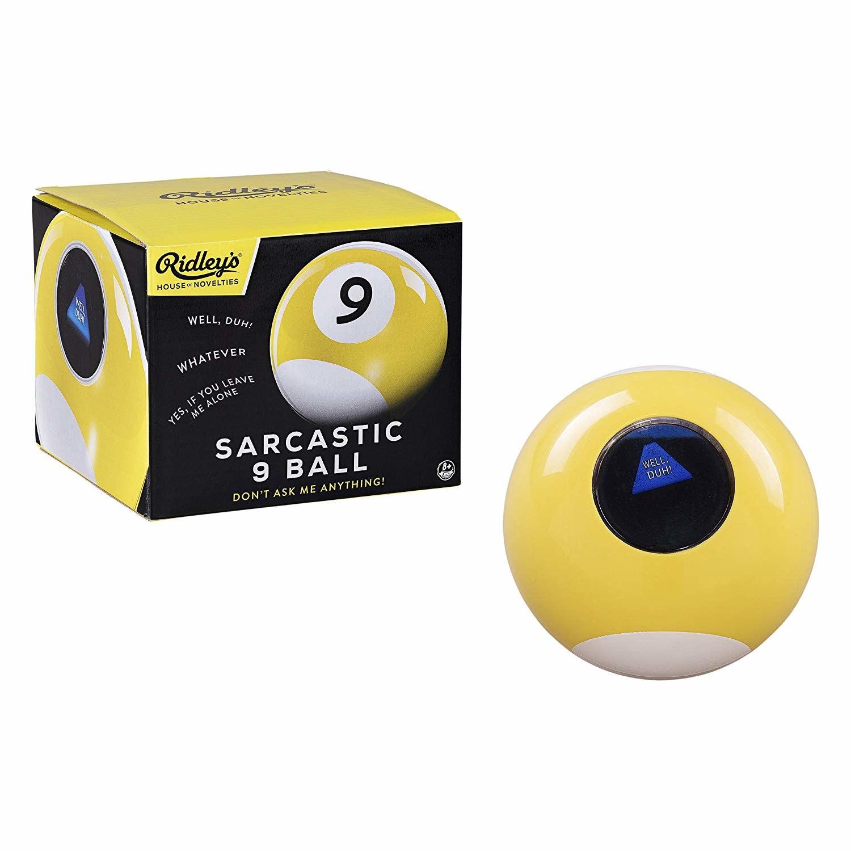 Wild & Wolf Ltd. Sarcastic 9 Ball