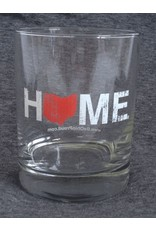 Home Rocks Glass - Red