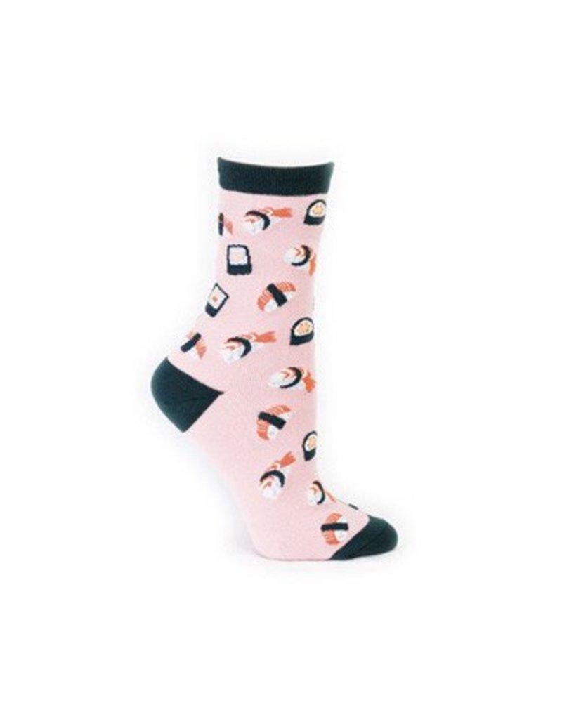 Sock It To Me Sushi - Women's Crew Socks