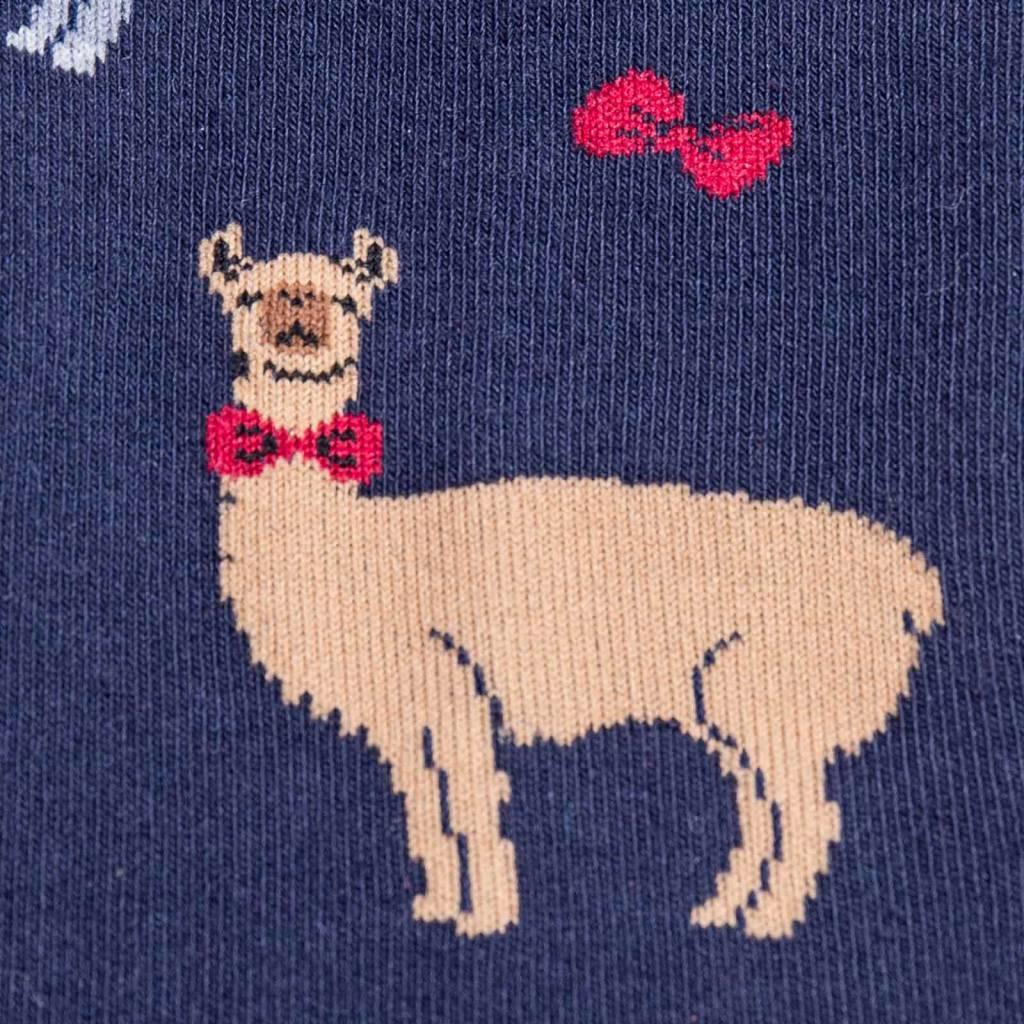 Sock It To Me Llama Drama - Men's Crew Socks