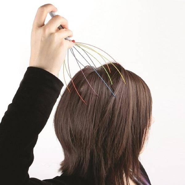 DCI (Decor Craft Inc.) Rainbow Head Massager