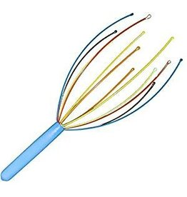 DCI (Decor Craft Inc.) Rainbow Head Massager