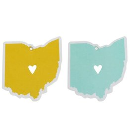 Ohio Air Freshener - Blue / Yellow