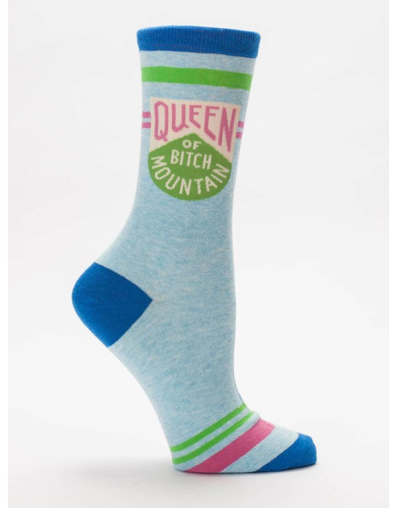 Queen Of Bitch Mountain Crew Socks !
