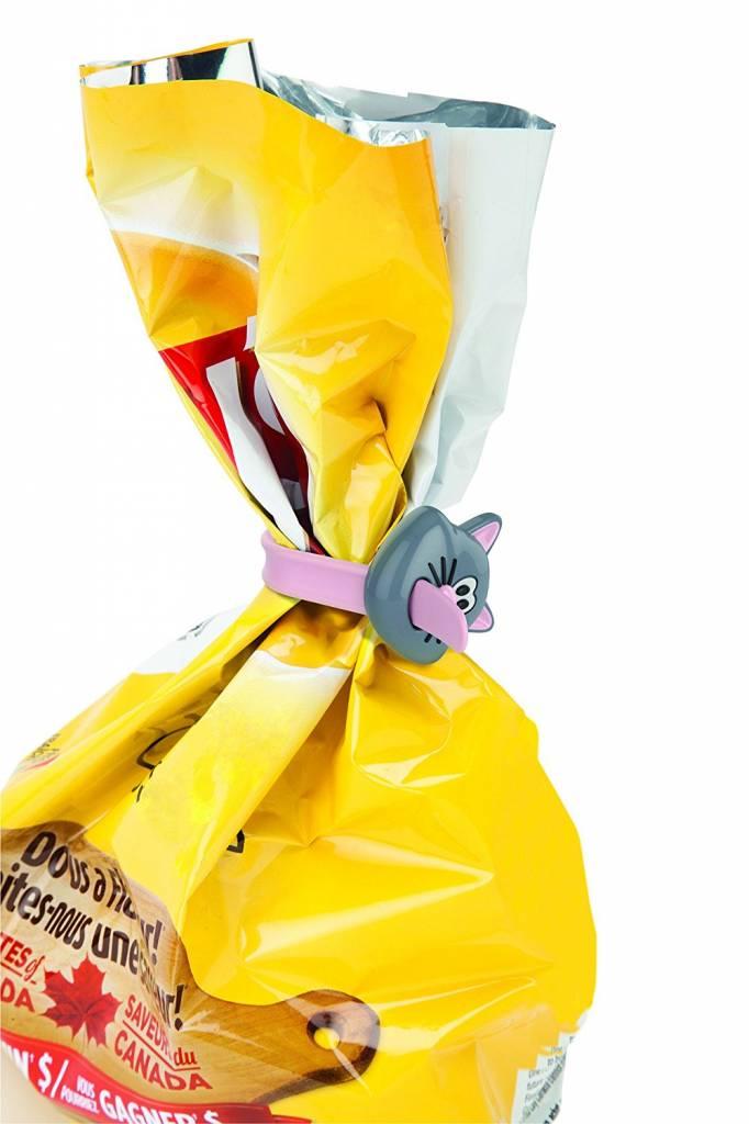 Harold Import Company Inc.* Meow Bag Ties 3/Pc