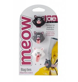 Harold Import Company Inc.* Meow Bag Ties 3/Pc