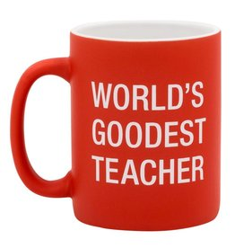 Worlds Goodest Teacher - Mug