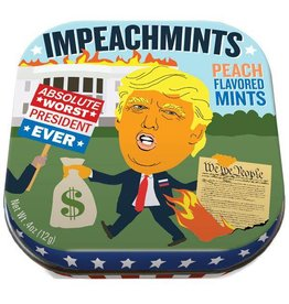 Unemployed Philosophers Guild Trump Impeachmints - Mints