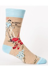 Killin' It  Men's Crew Socks