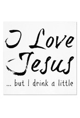 Twisted Wares / Missy Madewell* I Love Jesus - Napkins