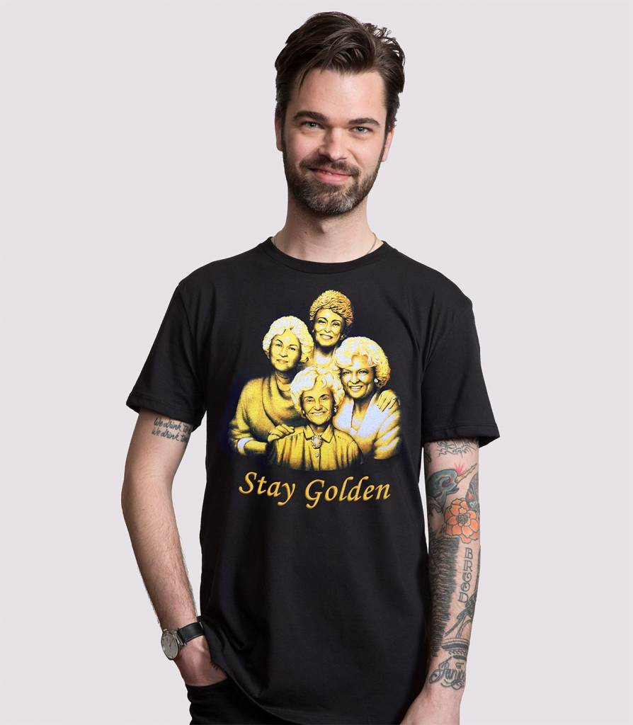 Headline Shirts Stay Golden Unisex T-Shirt