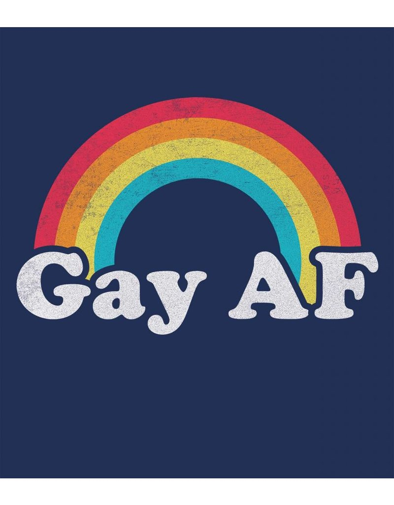 Headline Shirts Gay AF Unisex T-Shirt