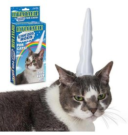 Unicorn Cat Inflatable Horn DNR